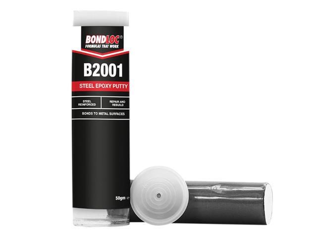 Thumbnail image of Bondloc B2001 Metal Epoxy Repair Putty 50g