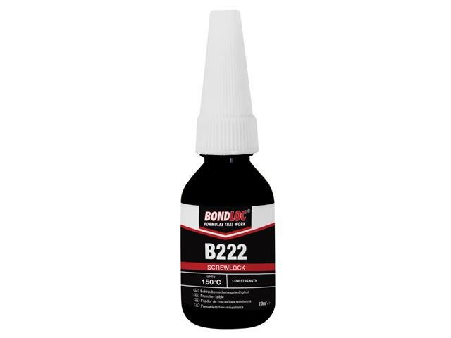 Thumbnail image of Bondloc B222 Screwlock Low Strength Threadlocker 10ml