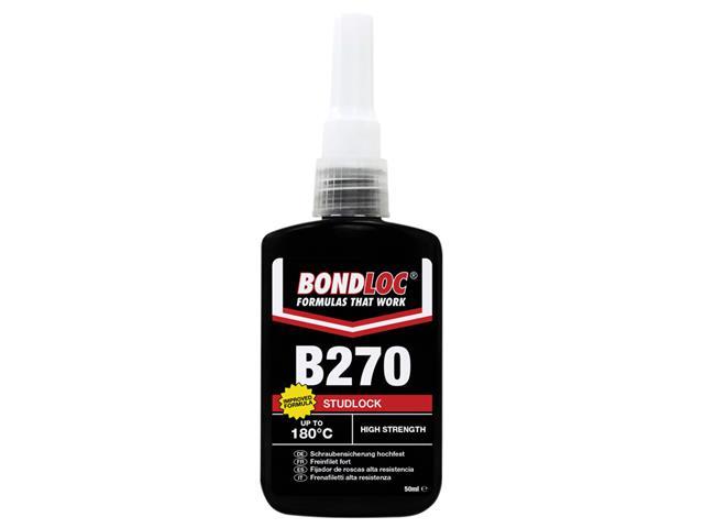 Thumbnail image of Bondloc B270 Studlock High Strength Threadlocker 50ml