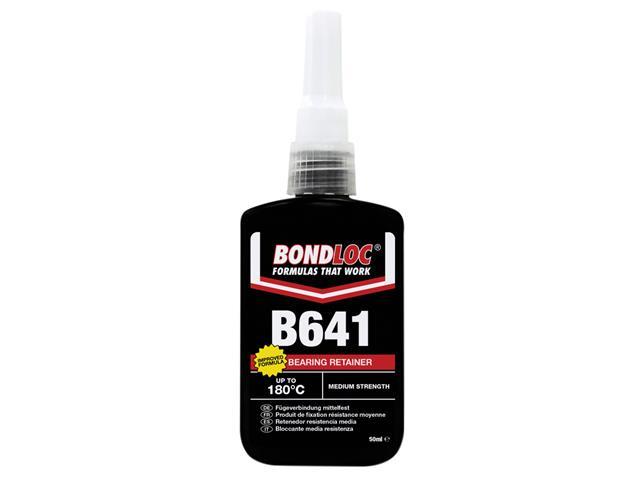 Thumbnail image of Bondloc B641 Bearing Fit Retaining Compound 50ml