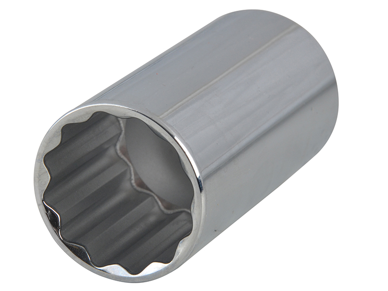 Thumbnail image of Expert Bi-Hexagon Deep Socket 1/2in Drive 18mm