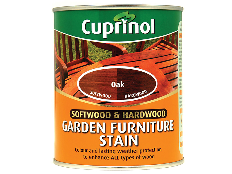 Thumbnail image of Cuprinol Softwood & Hardwood Garden Furniture Stain Oak 750ml