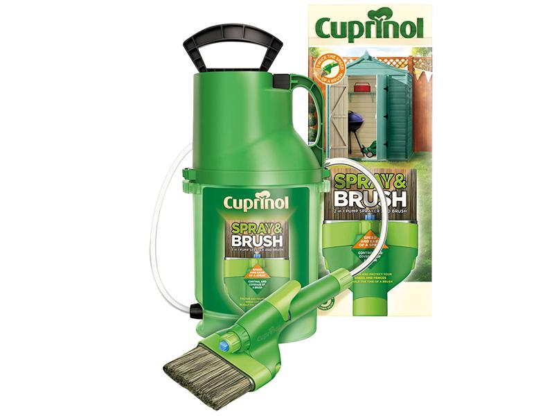 Thumbnail image of Cuprinol Spray & Brush 2-in-1 Pump Sprayer