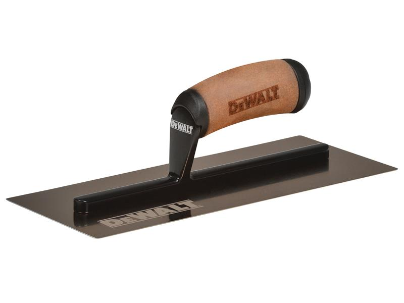 Thumbnail image of DeWALT Drywall Gold Stainless Steel Finishing Trowel 11.5in