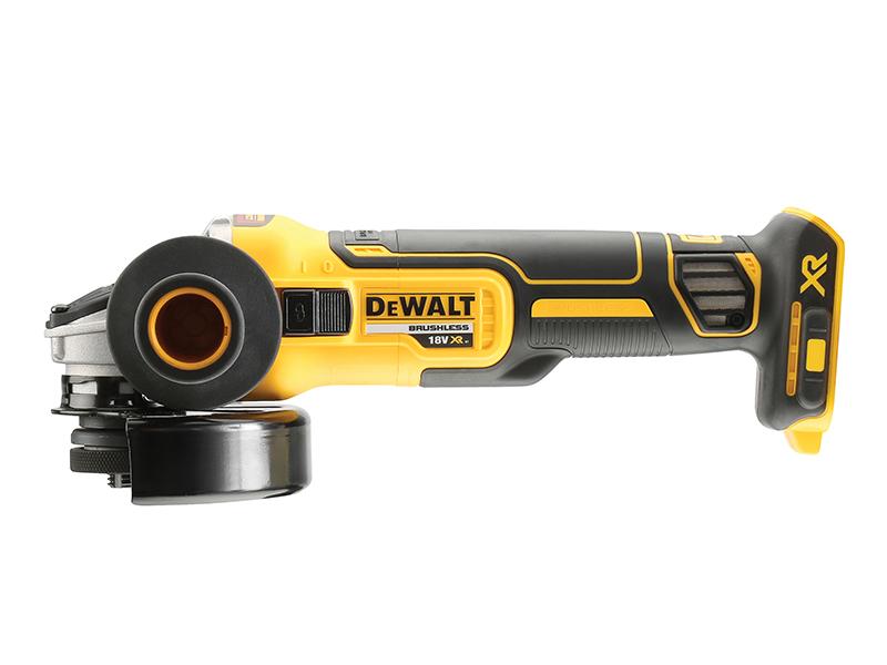 Thumbnail image of DeWALT DCG405N XR Brushless Grinder 125mm 18V Bare Unit