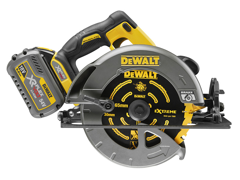 Thumbnail image of DeWALT DCS575T2 FlexVolt XR Circular Saw 190mm 54V 2 x 2.0Ah Li-ion