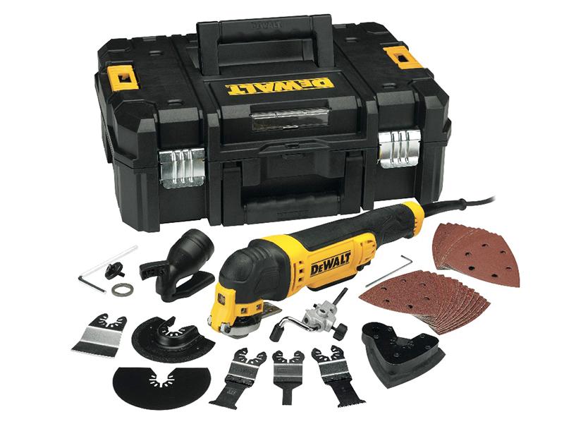 Thumbnail image of DeWALT DWE315KT Multi-Tool Quick Change Kit & TSTAK 300W 110V