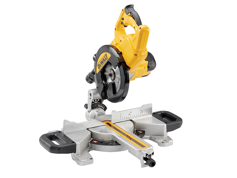 Thumbnail image of DeWALT DWS774 XPS Slide Mitre Saw 216mm 1400W 110V