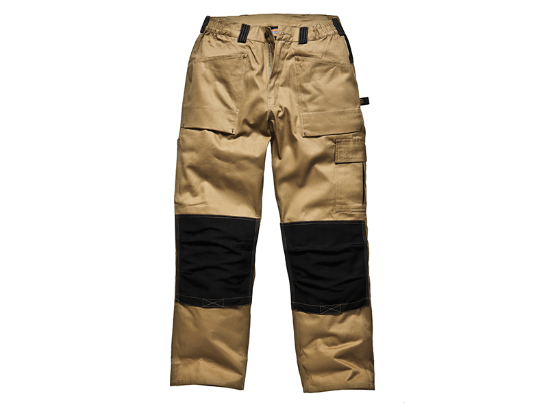 Thumbnail image of Dickies GDT290 Trousers Khaki & Black Waist 32in Leg 33in
