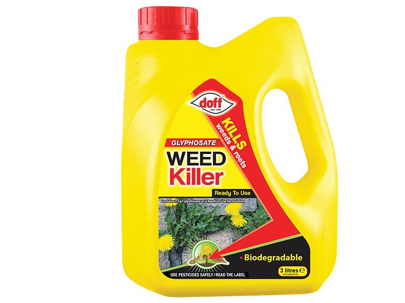 Thumbnail image of DOFF Advanced Weedkiller RTU 3 litre