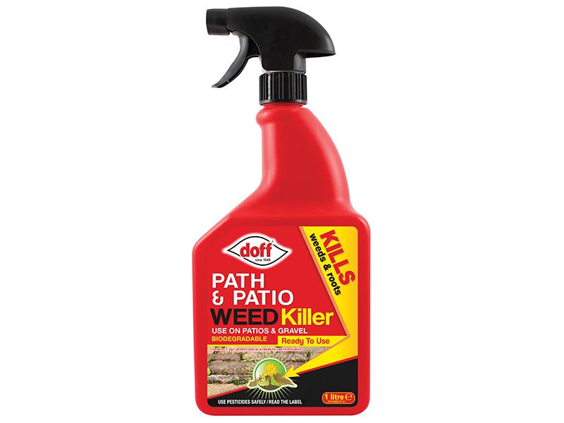 Thumbnail image of DOFF Path & Patio Weedkiller RTU 1 litre