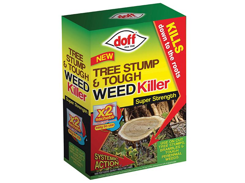Thumbnail image of DOFF Tree Stump & Tough Weedkiller 2 Sachet