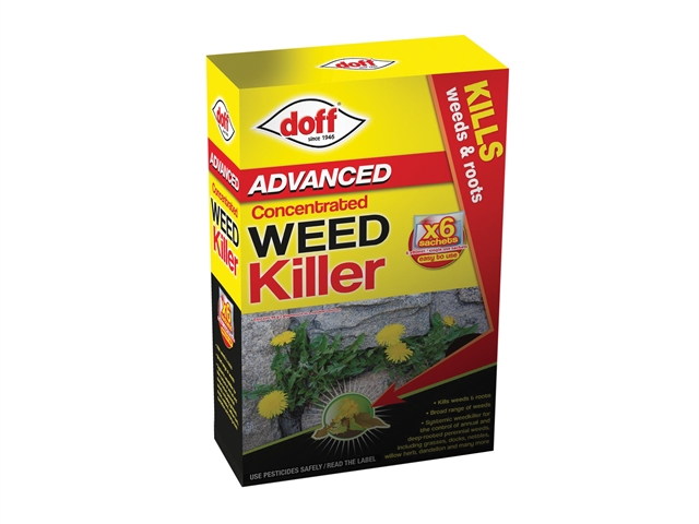 Thumbnail image of DOFF Advanced Concentrated Weedkiller 6 Sachet