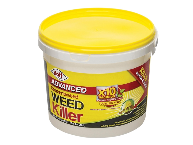 Thumbnail image of DOFF Advanced Concentrated Weedkiller 10 Sachet
