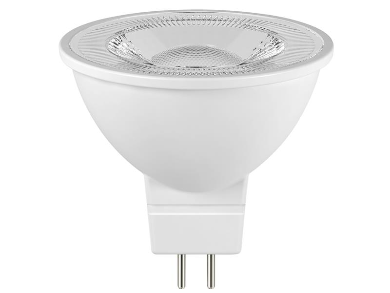 Thumbnail image of Energizer LED GU5.3 (MR16) 36° Non-Dimmable Bulb, Warm White 345 lm 4.8W
