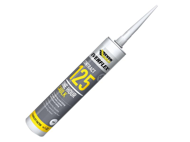 Thumbnail image of Everbuild One Hour Caulk 125 Brown 300ml