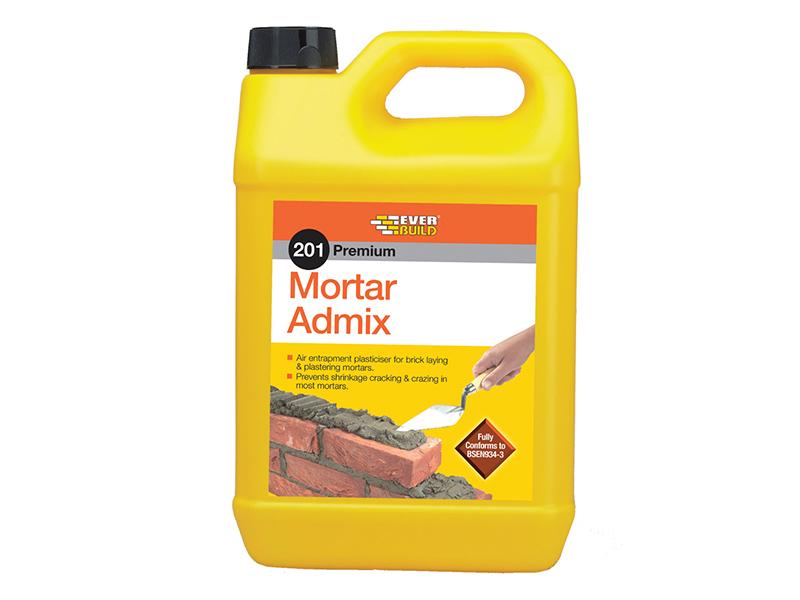 Thumbnail image of Everbuild 201 Mortar Admix 5 litre