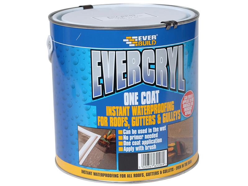 Thumbnail image of Everbuild EVERCRYL® One Coat Grey 2.5kg