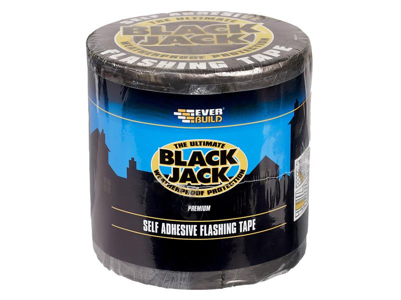 Thumbnail image of Everbuild Black Jack® Flashing Tape, Trade 75mm x 10m