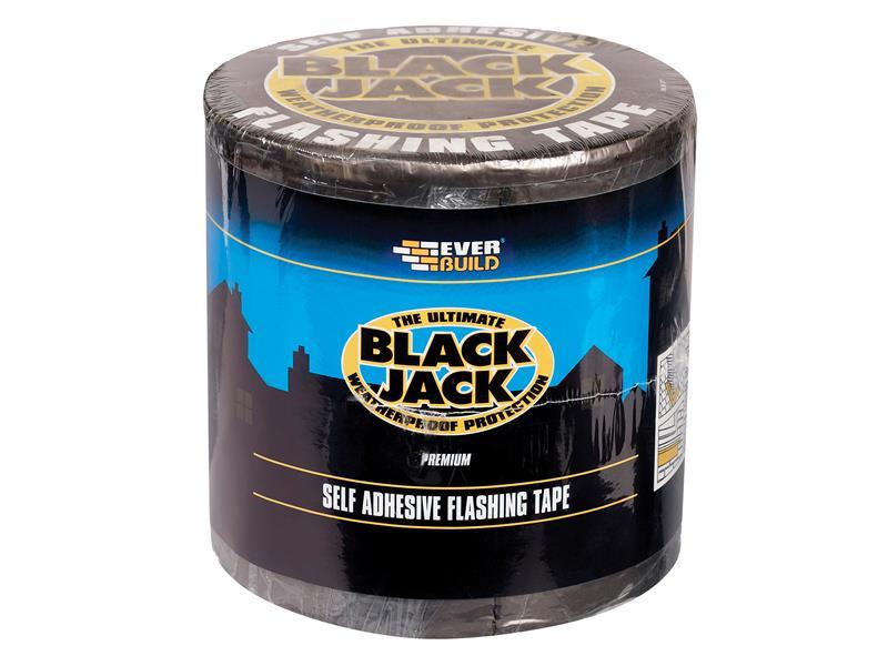 Thumbnail image of Everbuild Black Jack® Flashing Tape, DIY 100mm x 3m