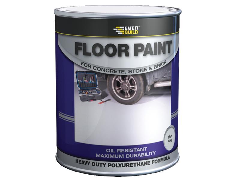 Thumbnail image of Everbuild Floor Paint Grey 5 litre