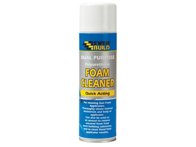 Thumbnail image of Everbuild Dual Purpose Foam Cleaner 500ml
