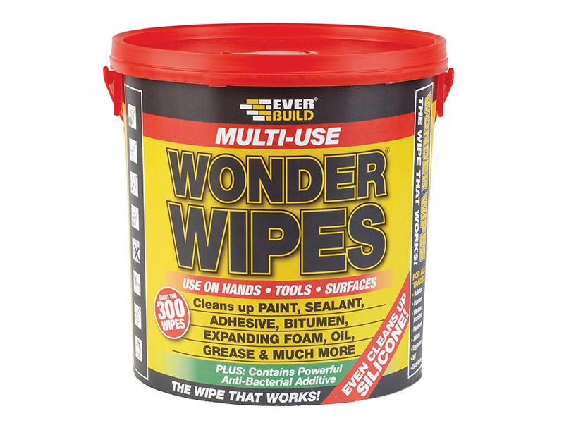 Thumbnail image of Everbuild Giant Wonder Wipes (Tub 300)