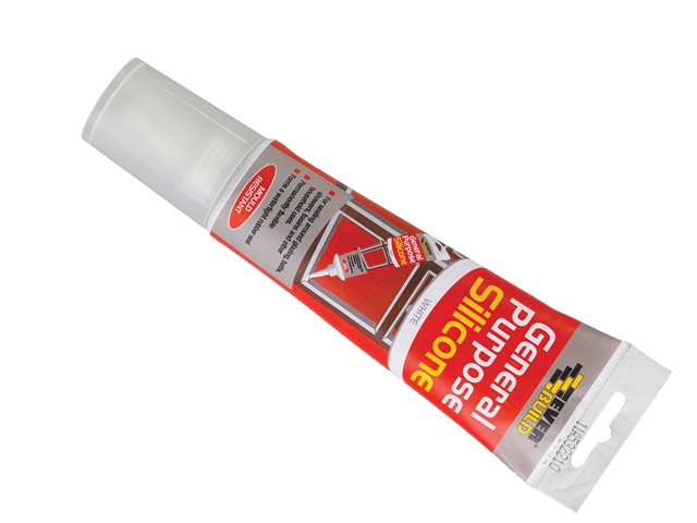 Thumbnail image of Everbuild General Purpose Easi Squeeze Silicone Sealant Clear 80ml