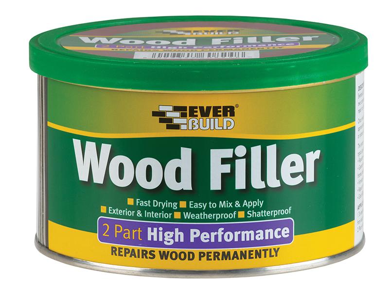 Thumbnail image of Everbuild 2-Part High-Performance Wood Filler White 500g