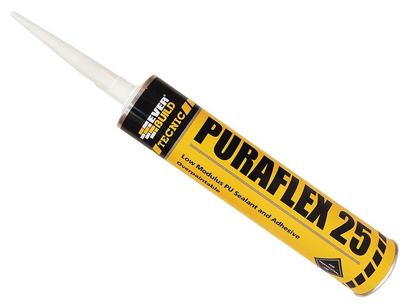 Thumbnail image of Everbuild Industrial Puraflex 25 Sealant Black 300ml