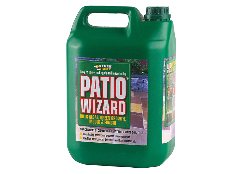 Thumbnail image of Everbuild Patio Wizard Concentrate 5 litre