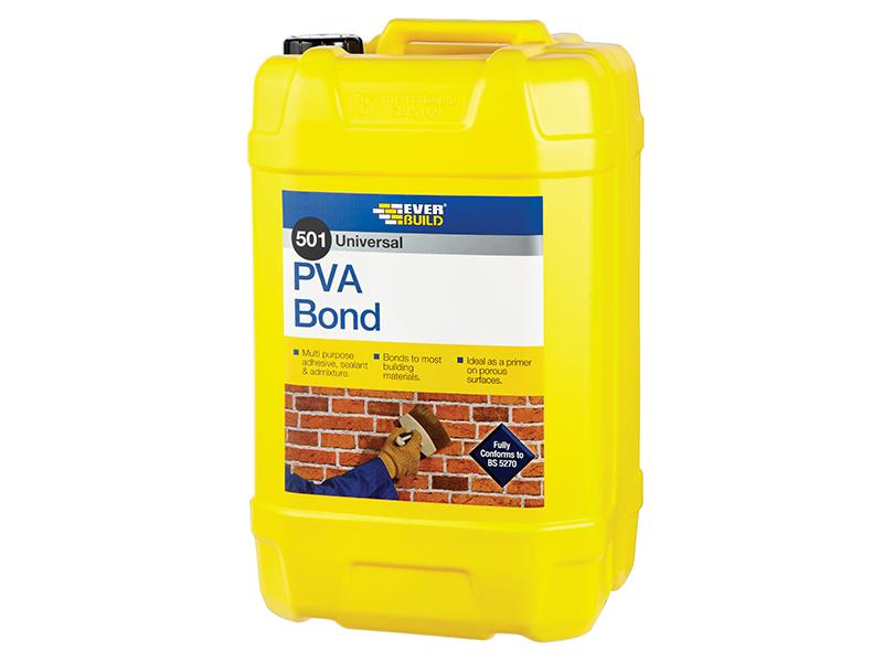 Thumbnail image of Everbuild Universal PVA Bond 501 2.5 litre