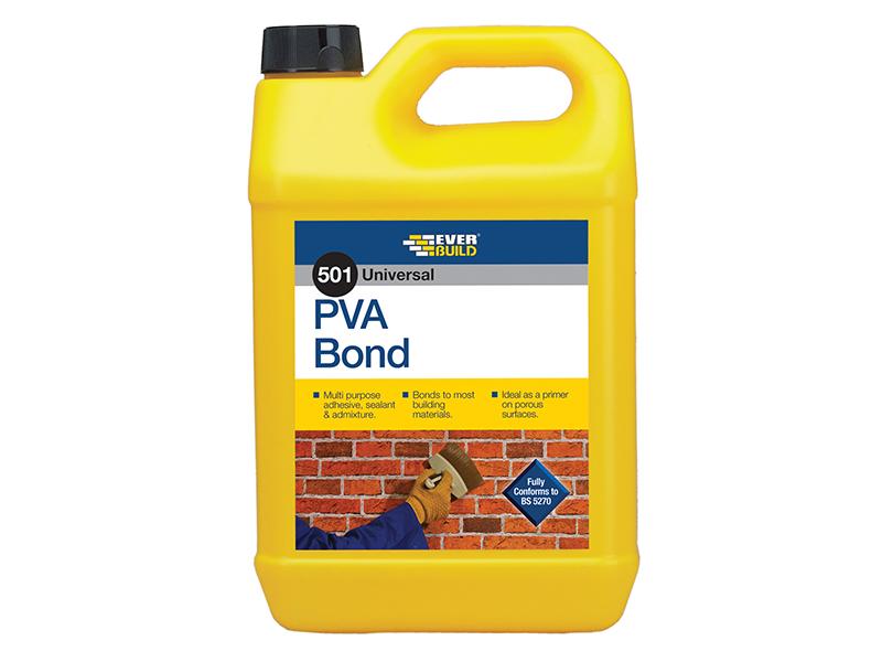 Thumbnail image of Everbuild 501 Universal PVA Bond 5 litre