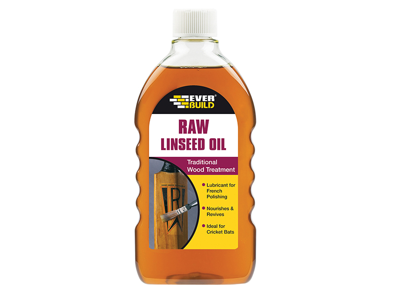 Thumbnail image of Everbuild Raw Linseed Oil 500ml