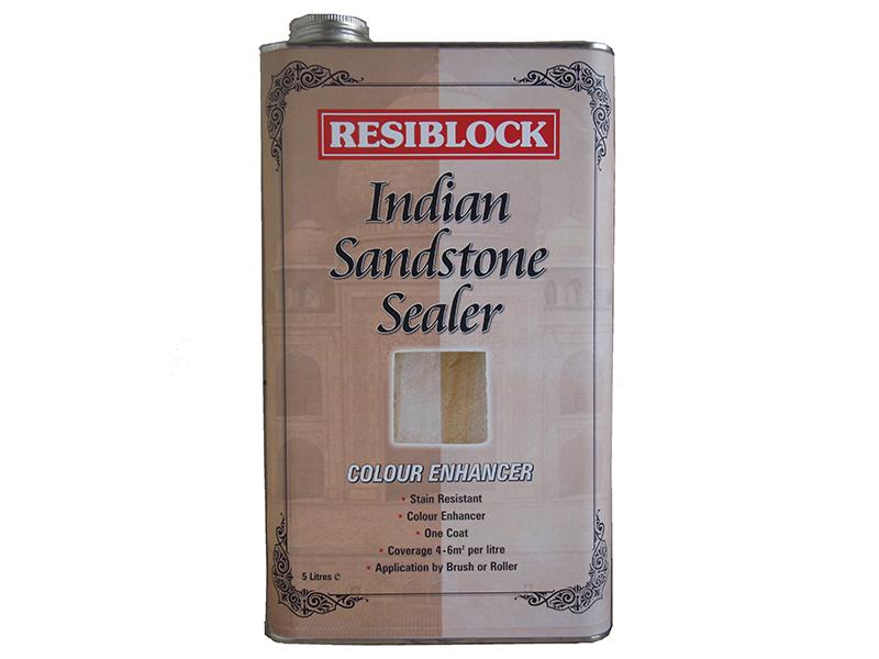 Thumbnail image of Everbuild Resiblock Indian Sandstone Sealer Colour Enhancer 5 litre