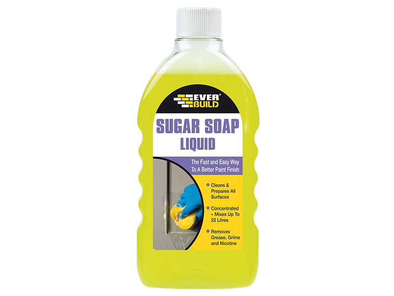 Thumbnail image of Everbuild Sugar Soap Liquid Concentrate 500ml