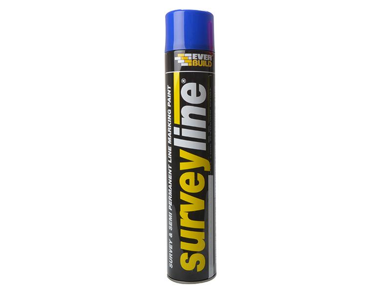 Thumbnail image of Everbuild Survey Line® Marker Spray Blue 700ml