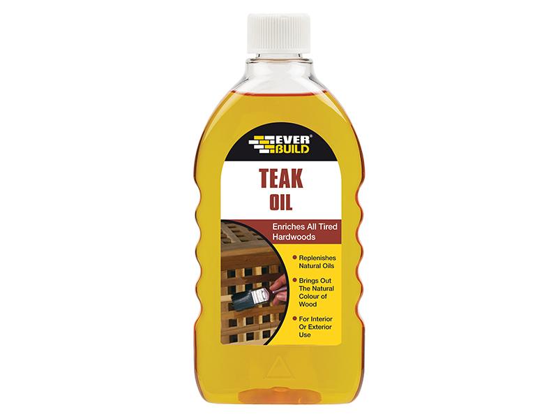 Thumbnail image of Everbuild Teak Oil 500ml