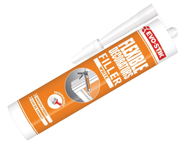 Thumbnail image of EVOSTIK Decorators Flexible Acrylic Filler White C20