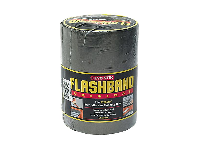 Thumbnail image of EVOSTIK Flashband Roll Grey 100mm x 10m