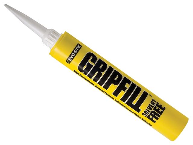 Thumbnail image of EVOSTIK GRIPFILL SOLVENT FREE Yellow Adhesive 350ml