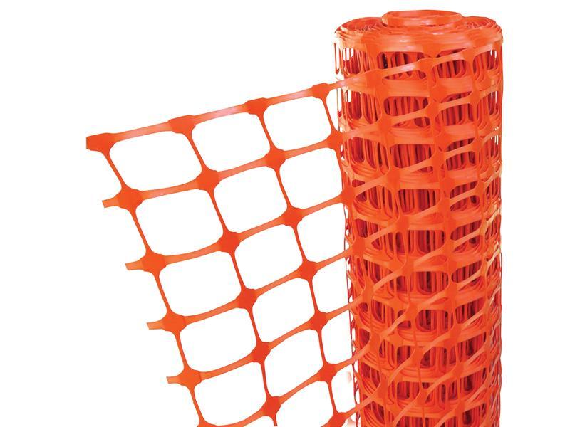 Thumbnail image of Faithfull Orange Barrier Fencing 1m x 50m