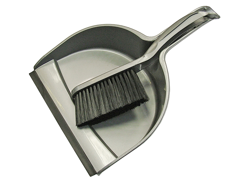 Thumbnail image of Faithfull Plastic Dustpan & Brush Set
