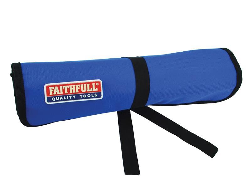 Thumbnail image of Faithfull 12 Pocket Chisel Roll 32 x 68cm