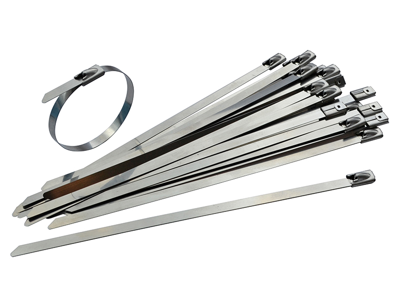 Thumbnail image of Faithfull Stainless Steel Cable Ties 7.9 x 680mm (Pack 50)