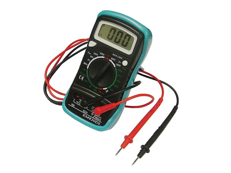 Thumbnail image of Faithfull Multimeter LCD Display