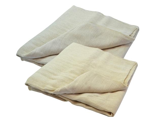 Thumbnail image of Faithfull Cotton Twill Dust Sheet 3.6 x 2.7m