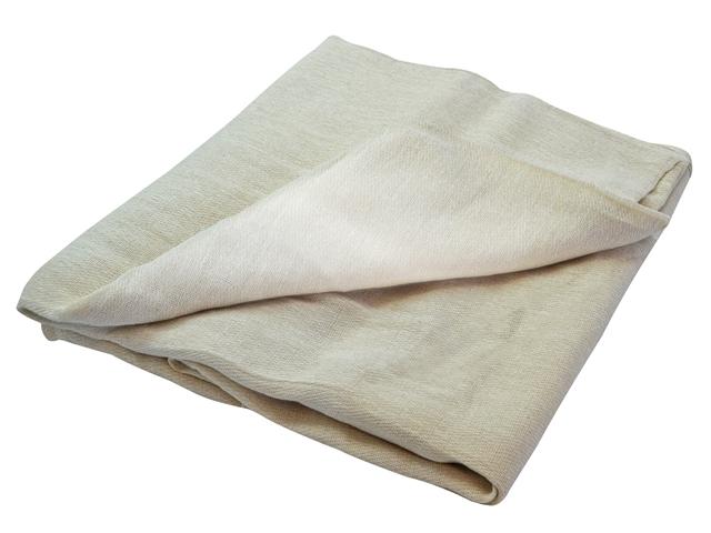 Thumbnail image of Faithfull Cotton Twill Polythene Backed Dust Sheet 3.6 x 2.8m