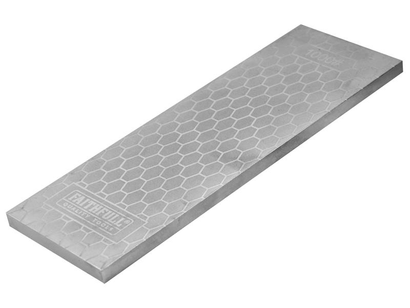 Thumbnail image of Faithfull Diamond Sharpening Stone 200mm x 70mm