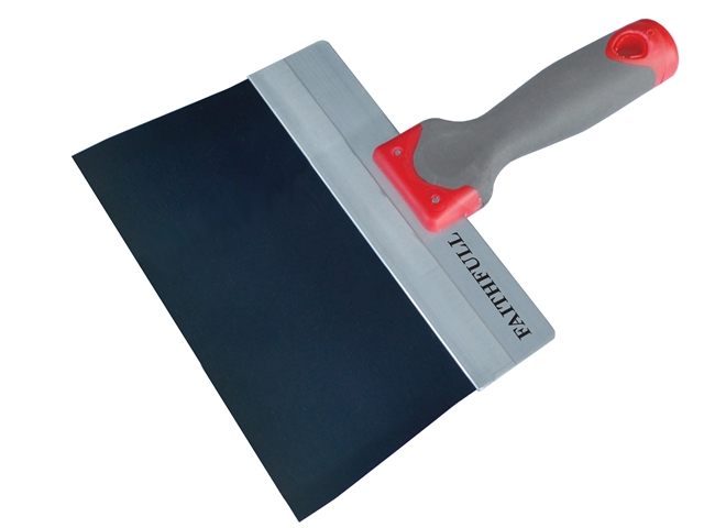 Thumbnail image of Faithfull Drywall Taping Knife Blue Steel 200mm (8in)